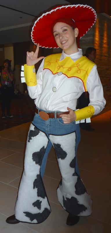 "A cosplay of Jessie from Toy Story 2 at ACen 2010"" title="