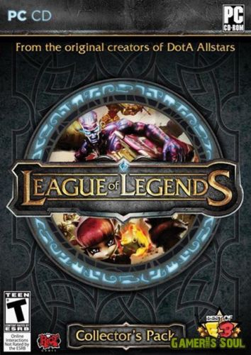 League of Legends cover