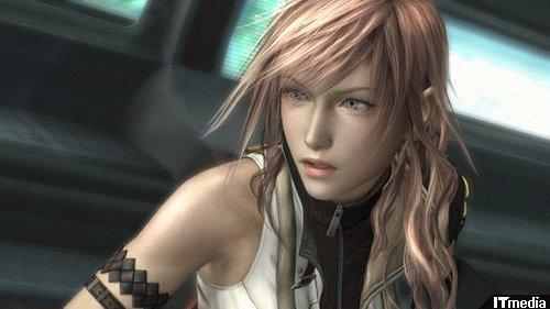 Final Fantasy 13's heroine, Lightning
