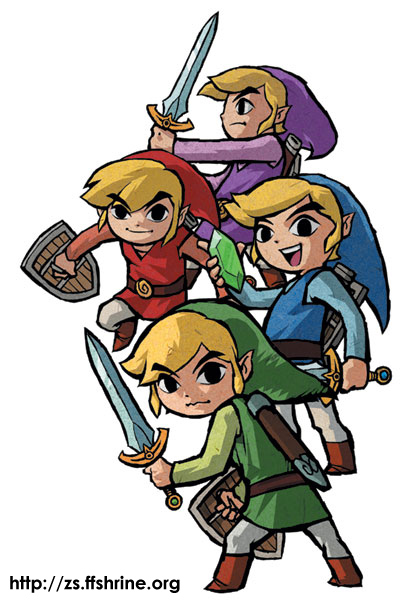 The Links of Four Swords