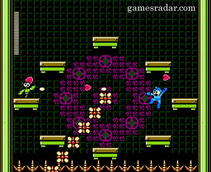 Mega Man Versus... evil flower clock?