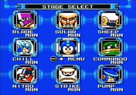 Stage Select