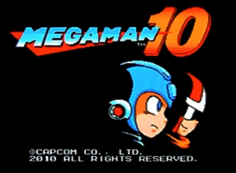 Mega Man 10 Title Screen