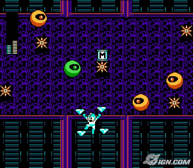 A Mega Man 9 Dr. Wily Level